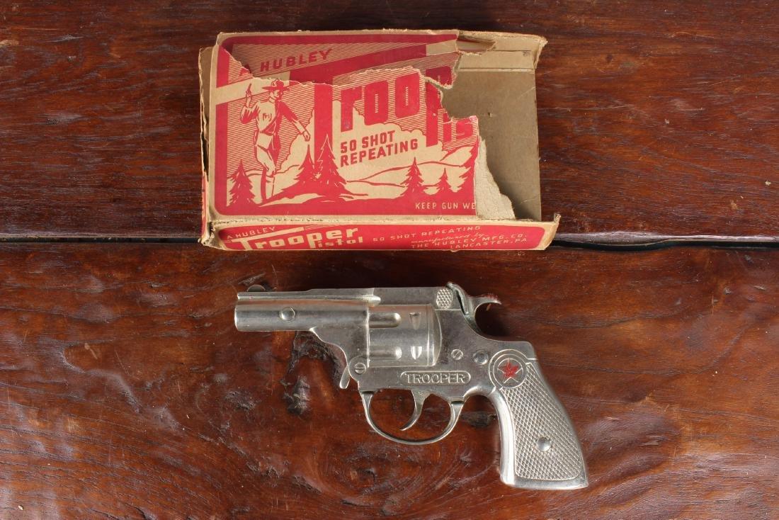 Vintage Hubley Trooper 50 Shot Repeater