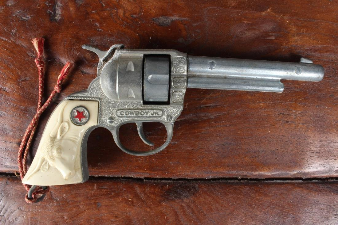 Vintage Cowboy Jr Cap Gun - 3