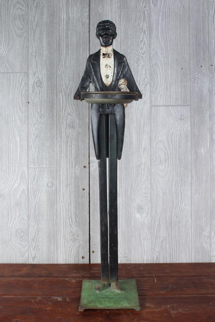 Black Americana Butler Smoking Stand