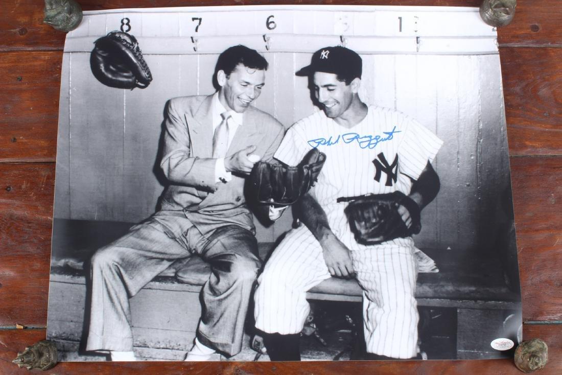 Signed NY Yankees Phil Rizzuto w Sinatra Photo