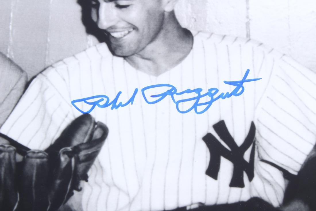 Signed NY Yankees Phil Rizzuto w Sinatra Photo - 2