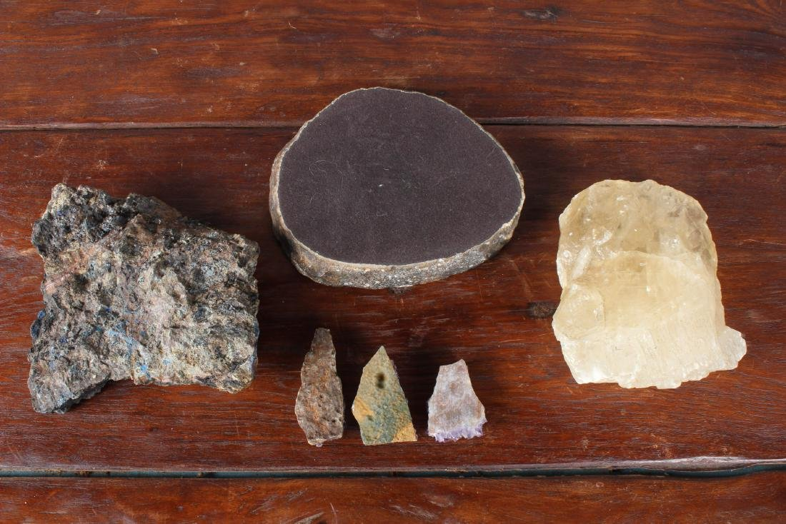 6  Miscellaneous Geodes and Gemstones Specimens - 6