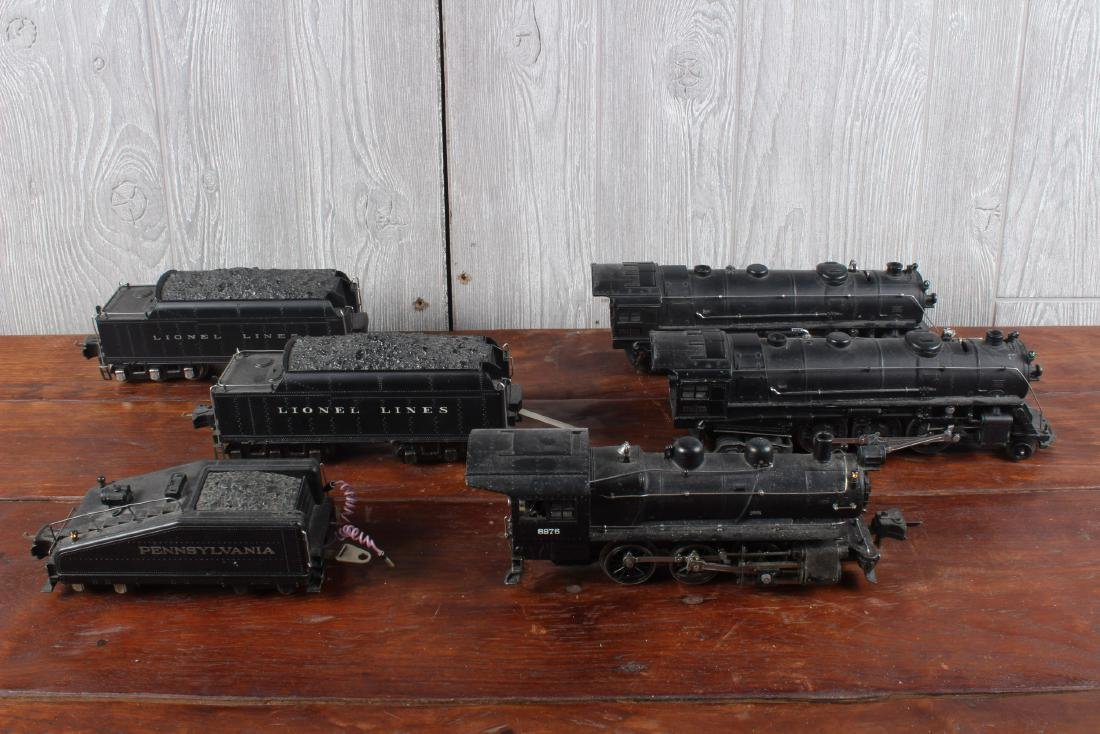 3 Lionel O Guage Locomotives