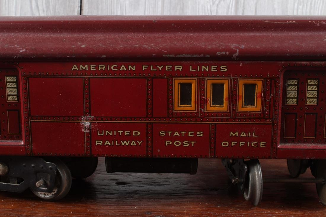 3 American Flyer O Gauge Passenger Cars - 2