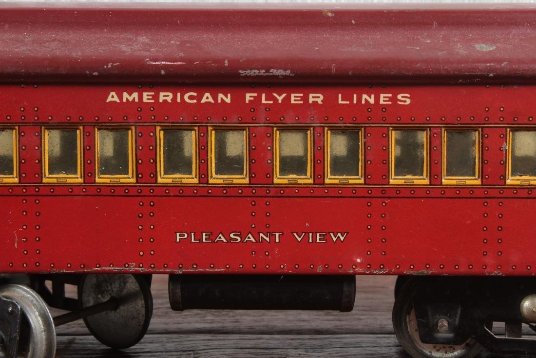 3 American Flyer O Gauge Passenger Cars - 3