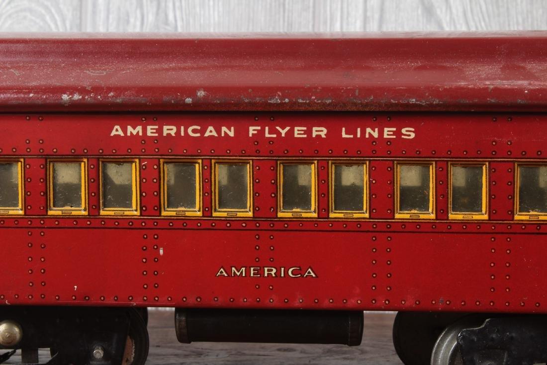 3 American Flyer O Gauge Passenger Cars - 4