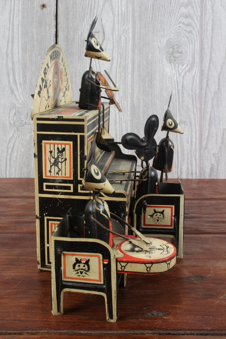 Marx Toys Merry Makers Tin Litho Wind Up Toy - 2
