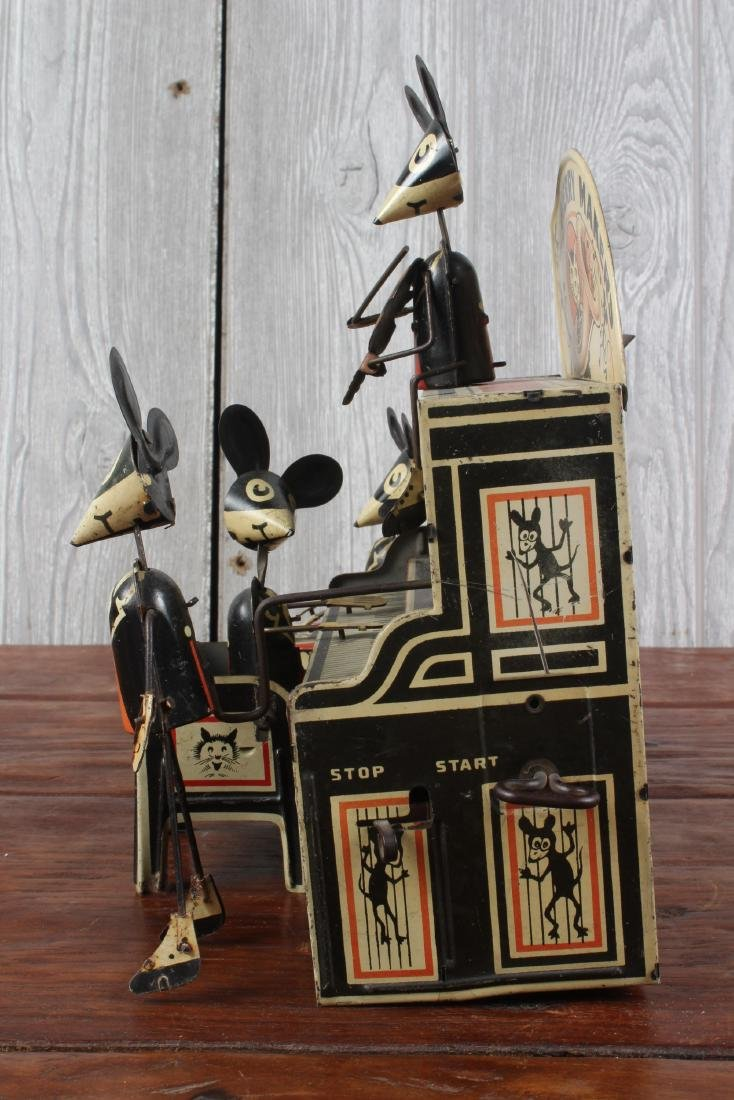 Marx Toys Merry Makers Tin Litho Wind Up Toy - 4
