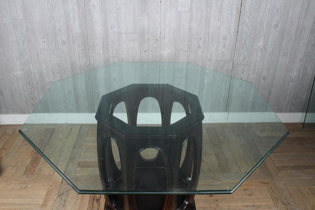 Asian Inspired Octagonal Dining Table - 2