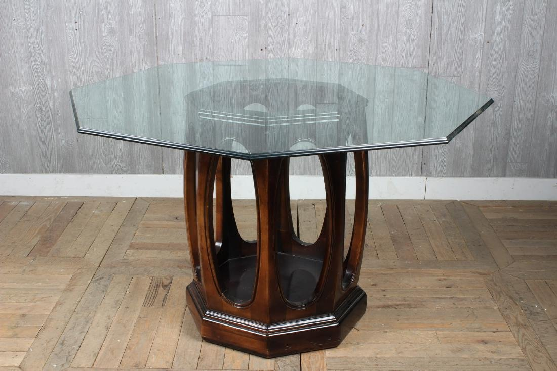 Asian Inspired Octagonal Dining Table - 3