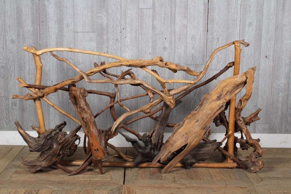 Driftwood Screen