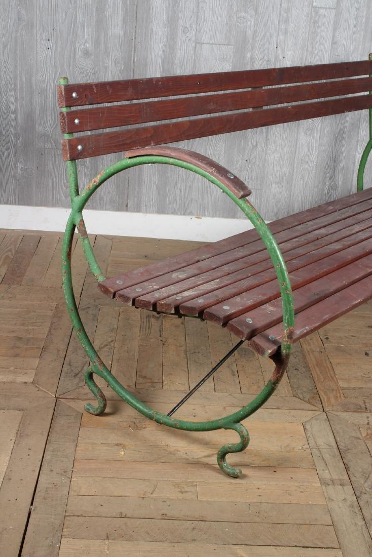 Art Deco French Garden Bench - 2