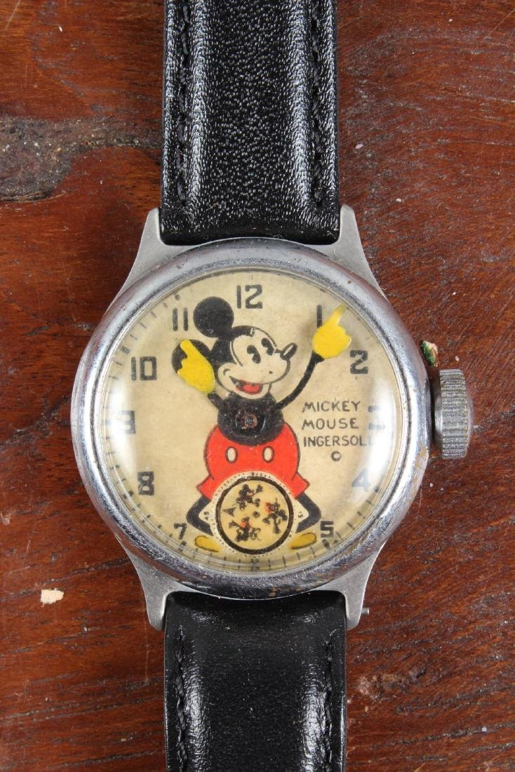 Early Ingersoll Mickey Mouse Watch