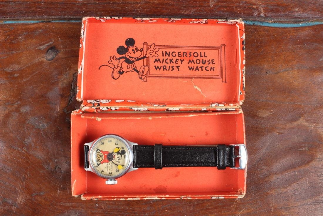 Early Ingersoll Mickey Mouse Watch - 2