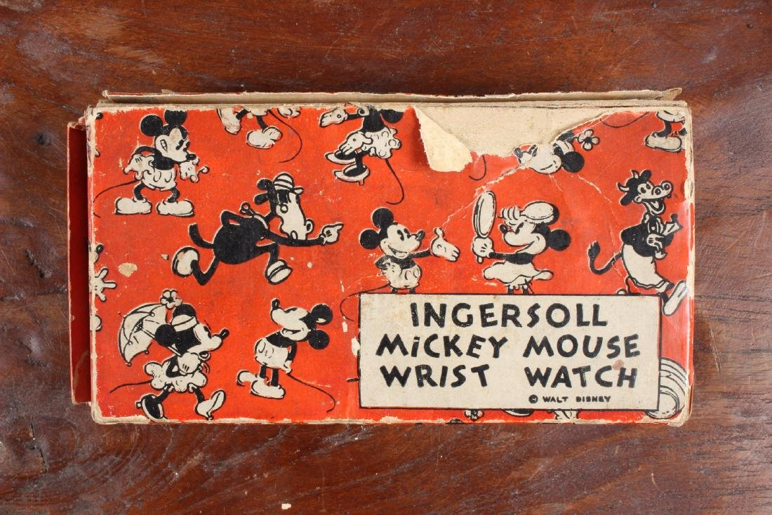 Early Ingersoll Mickey Mouse Watch - 4