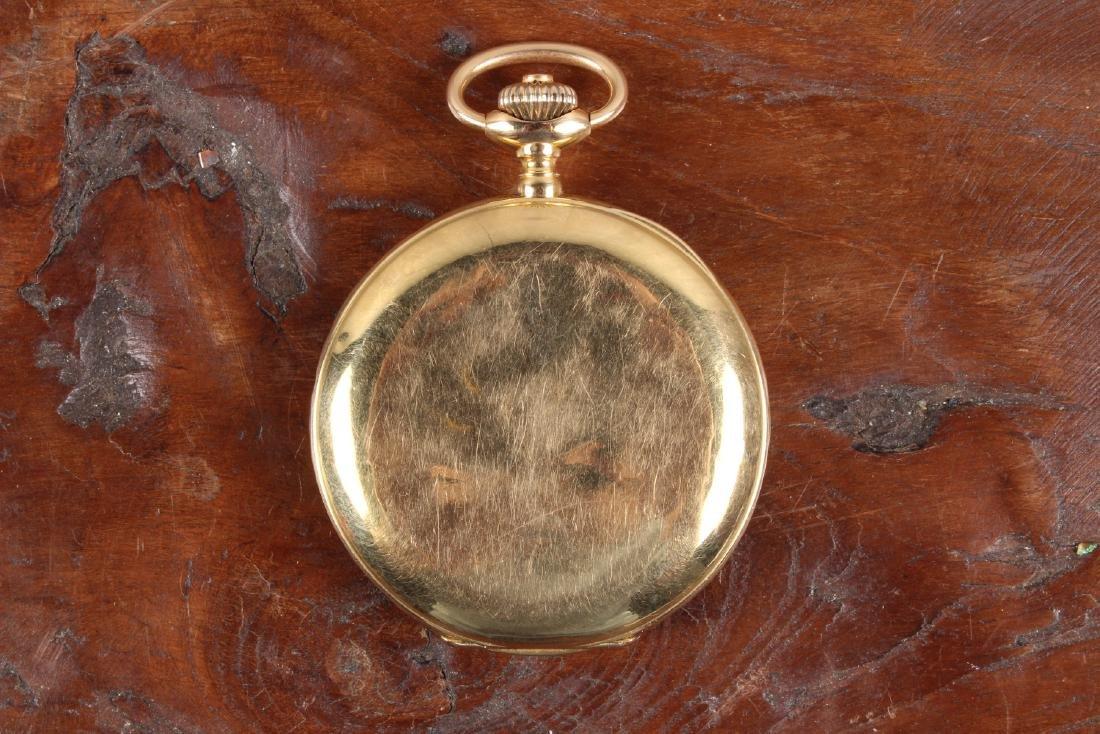 18K Gold Omega Pocket Watch - 2