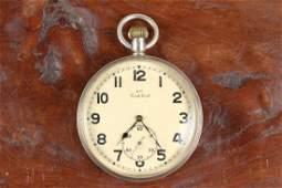 WWII Cortebert German Kriegsmarine Pocket Watch