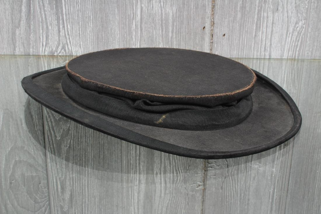 Lord & Taylor Collapsible Silk Top Hat - 5