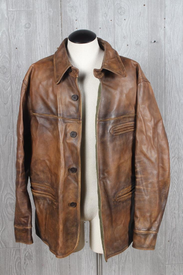 Double RL RRL Leather Jacket