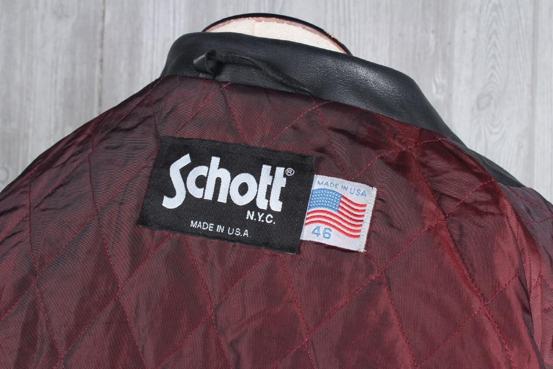 Vintage Schott Leather Jacket - 3