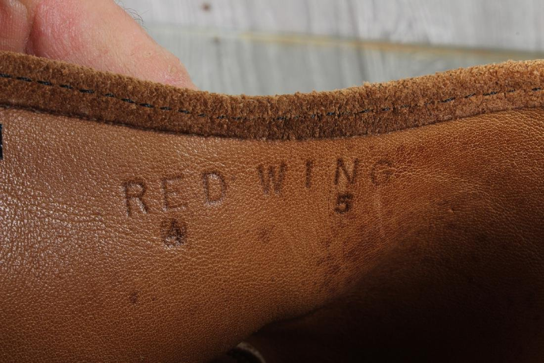 Vintage Red Wing Boots - 3