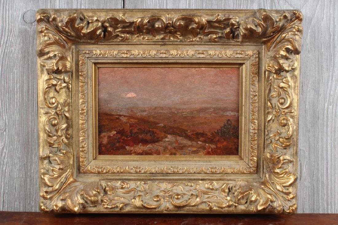 Antique Painting Signed James Charles