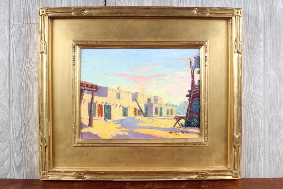 Jack Van Ryder New Mexico 1928 Painting