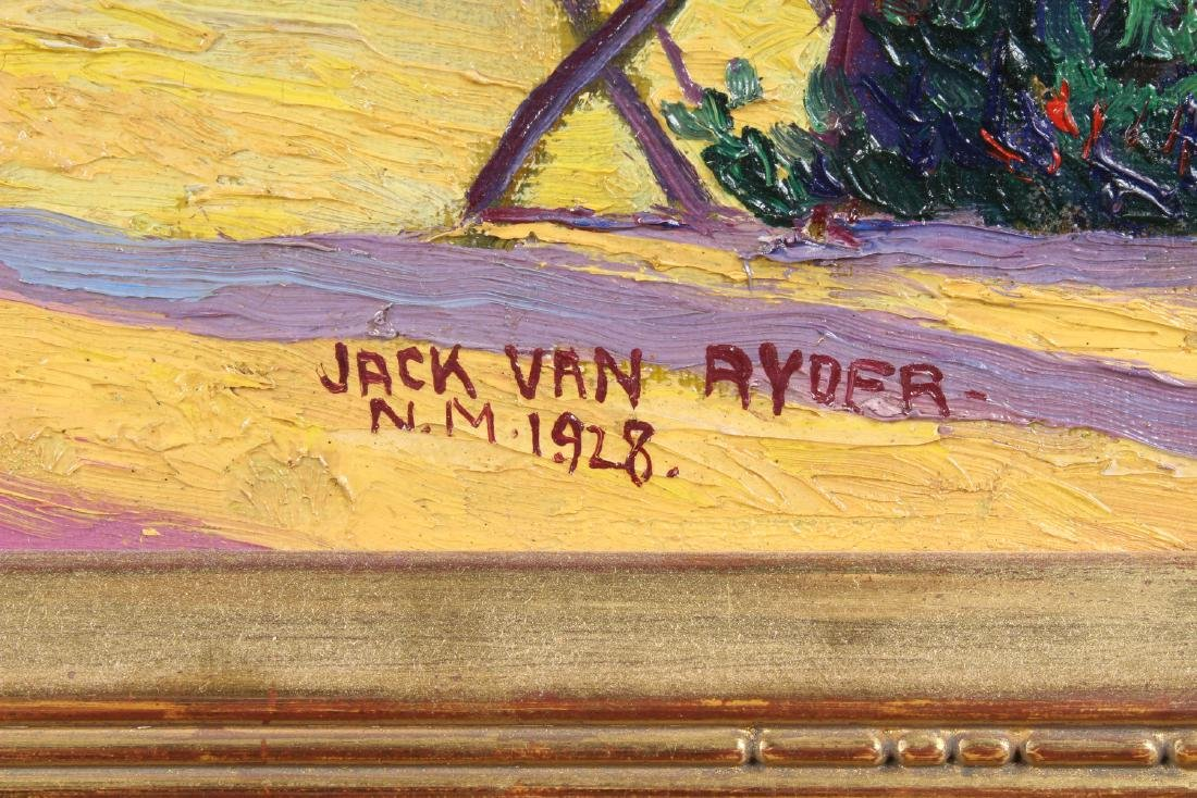 Jack Van Ryder New Mexico 1928 Painting - 2