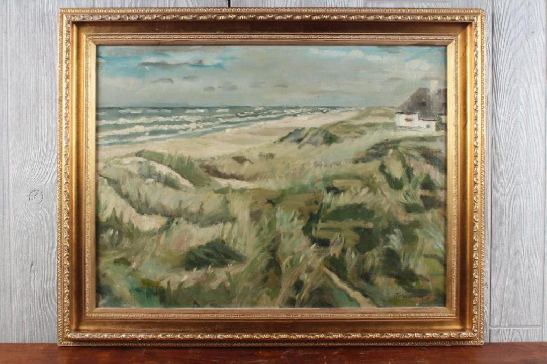 John Sloan (1871-1951 American) Coastal View