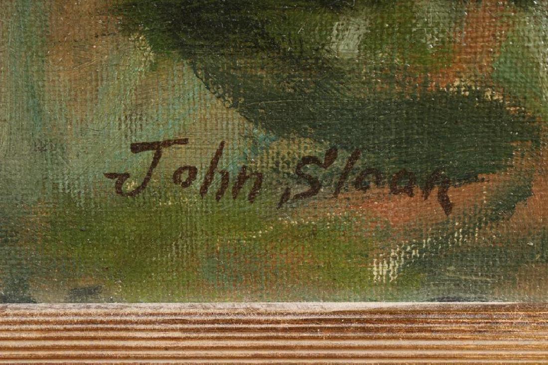 John Sloan (1871-1951 American) Coastal View - 2