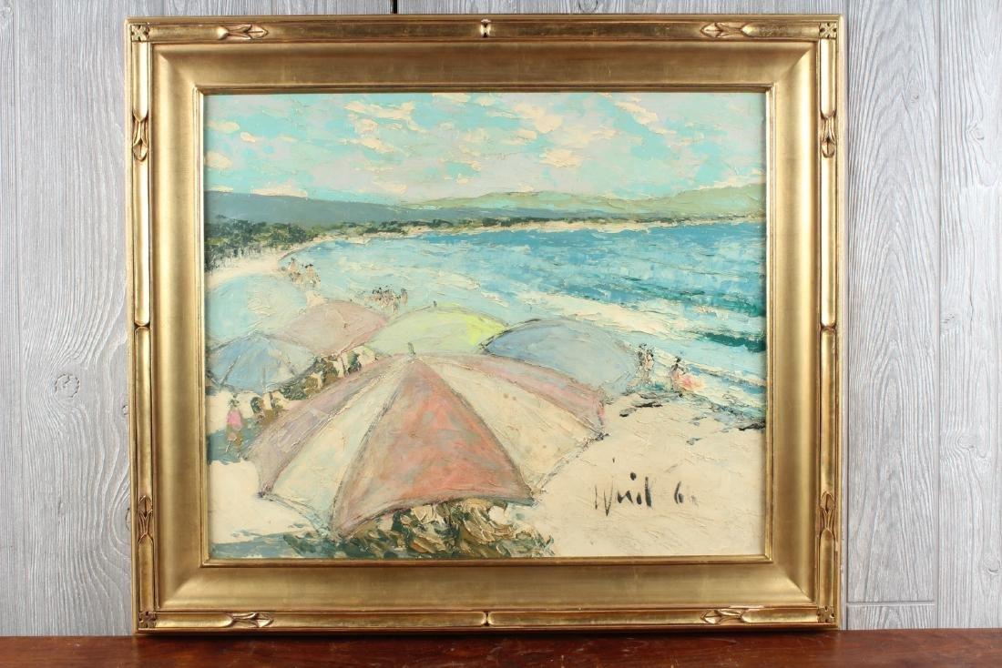 Warill? Beach Scene Painting