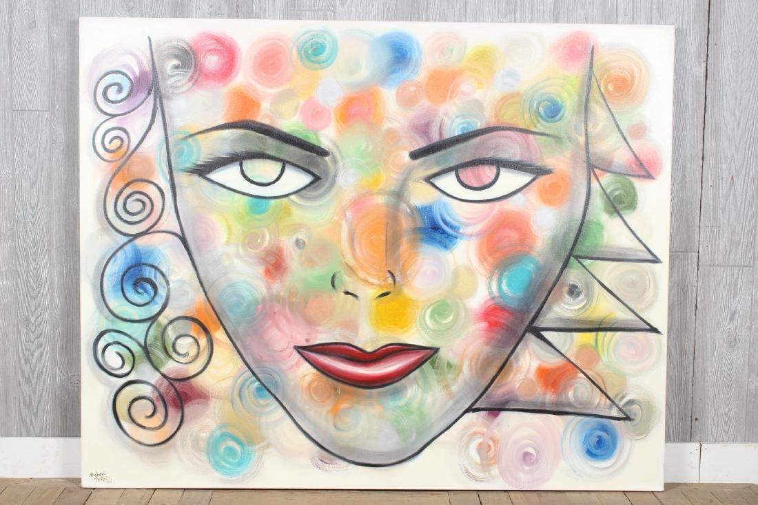 Michael Perez Pop Artist Face Painting 2004