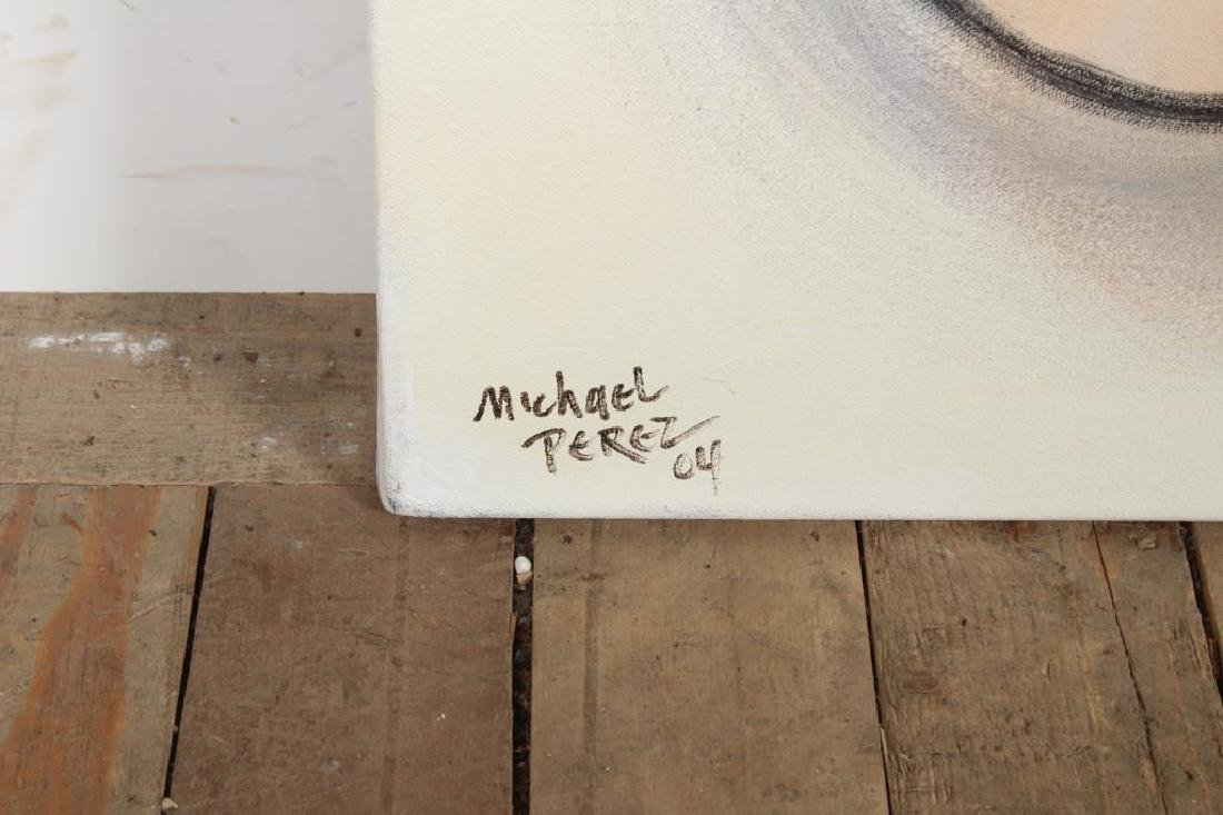 Michael Perez Pop Artist Face Painting 2004 - 2