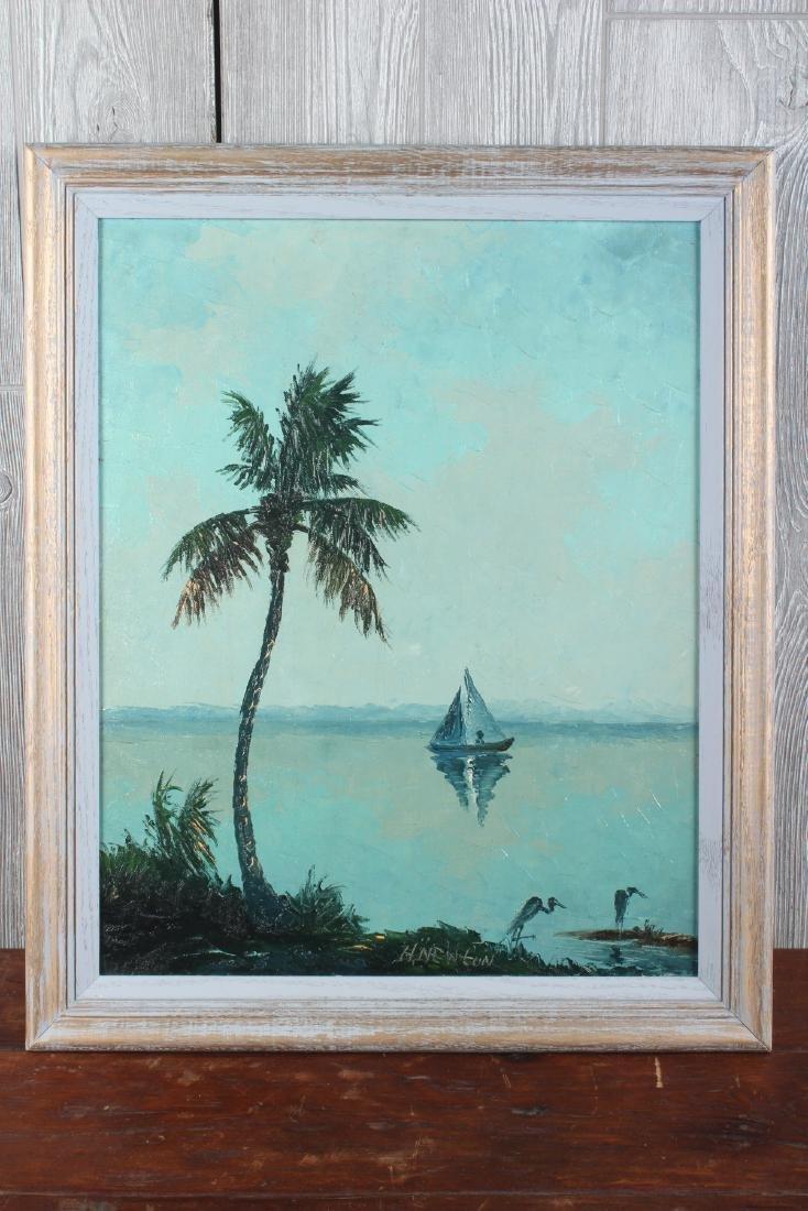 Harold Newton Florida Highwaymen Painting