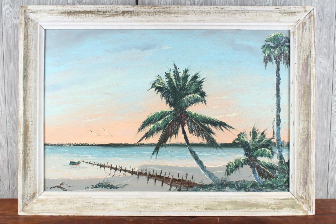 Alfred Hair Florida Highwaymen Painting