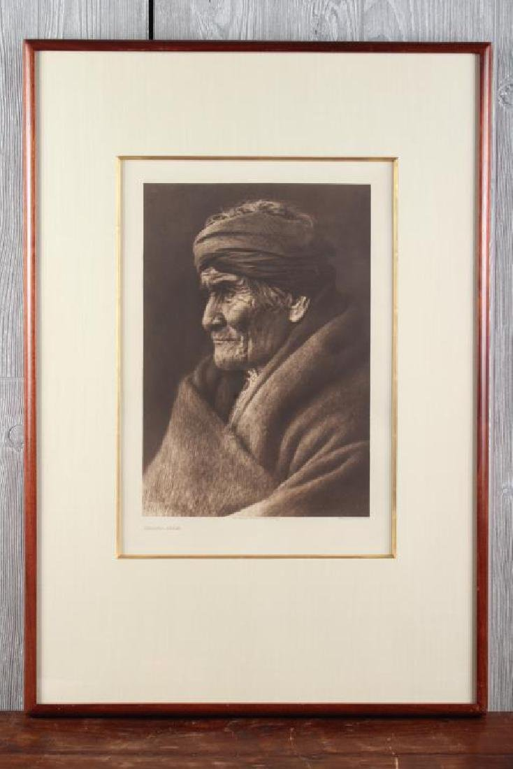 Edward Curtis Geronimo Photogravure