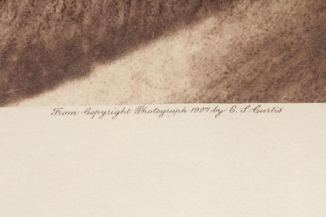 Edward Curtis Geronimo Photogravure - 2