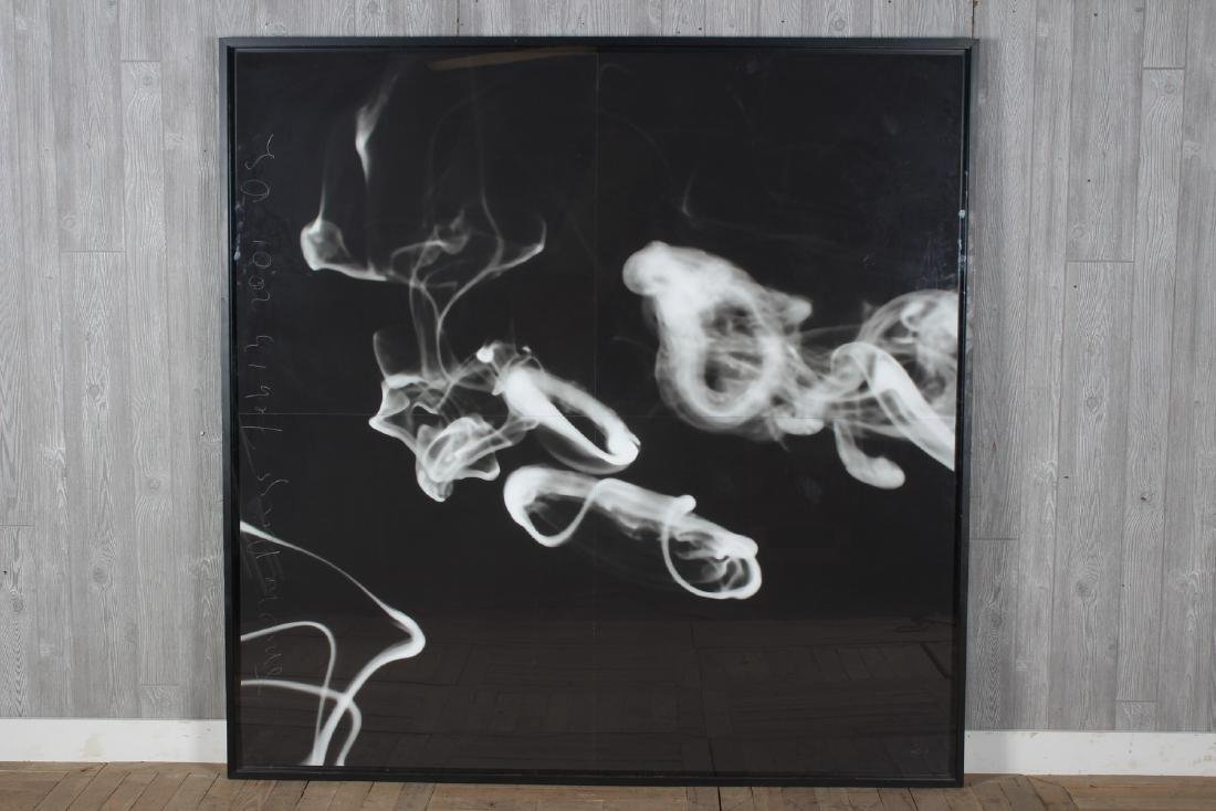 Donald Sultan (b.1951) Monumental Smoke Rings