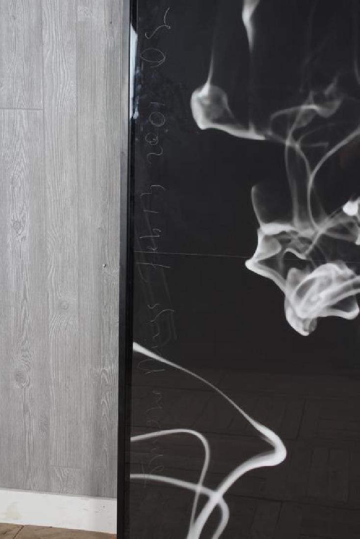 Donald Sultan (b.1951) Monumental Smoke Rings - 2