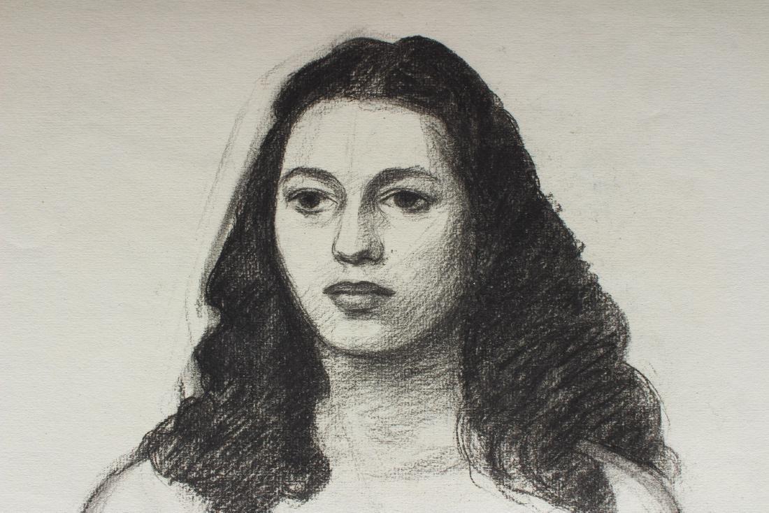 Julius Bloch Academic Figural Female Study - 2
