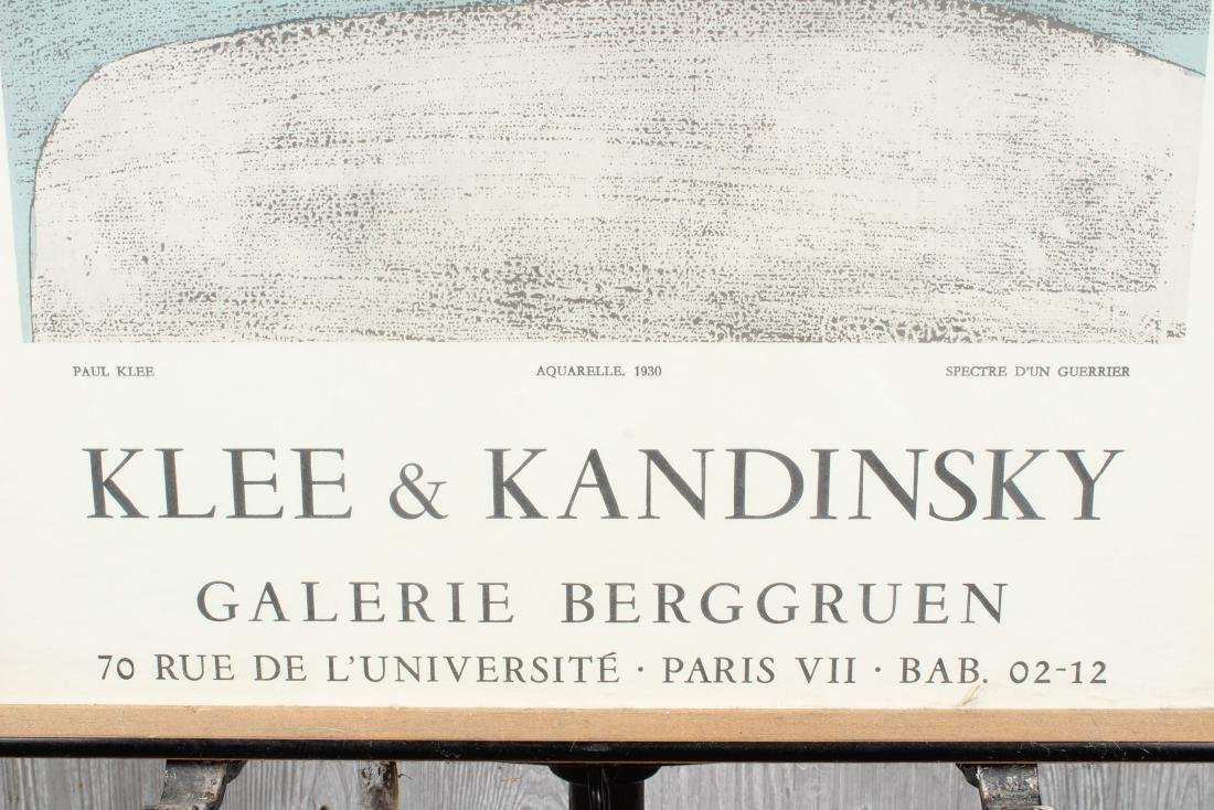 Klee and Kandinsky Exhibition Poster - 2