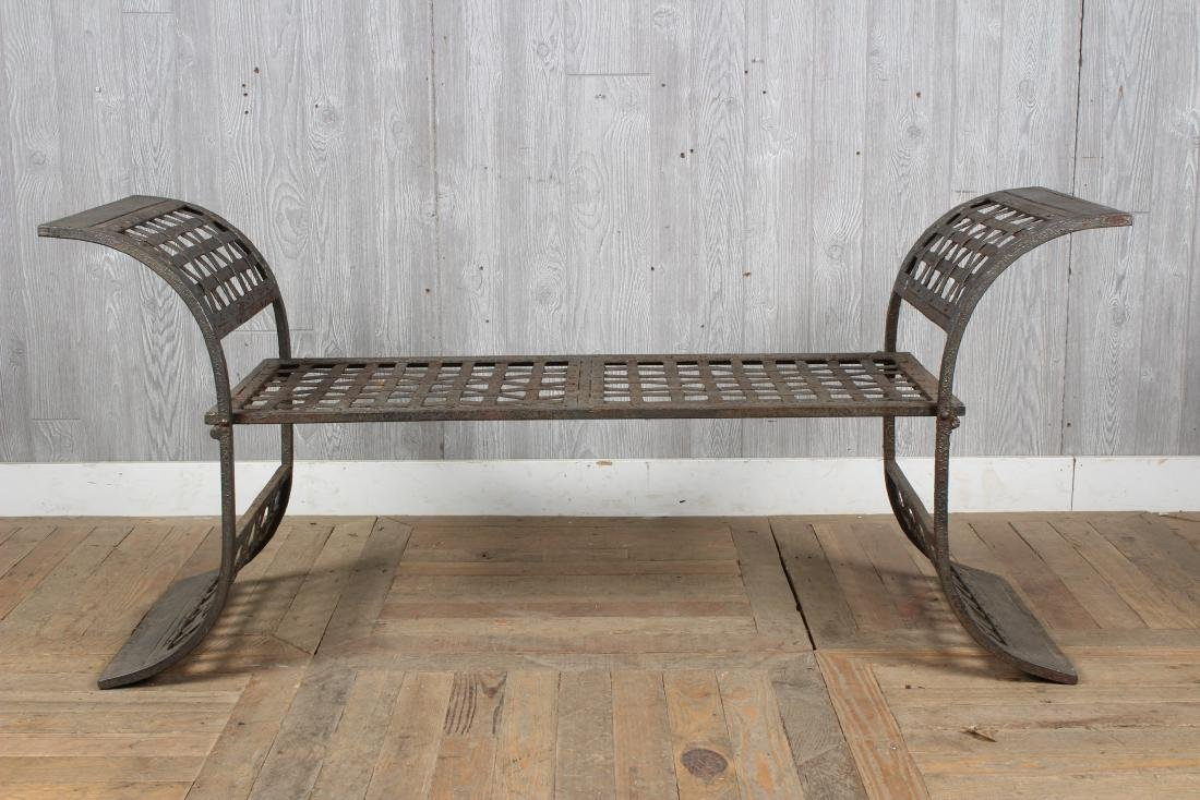 Regency Style Folding Bench