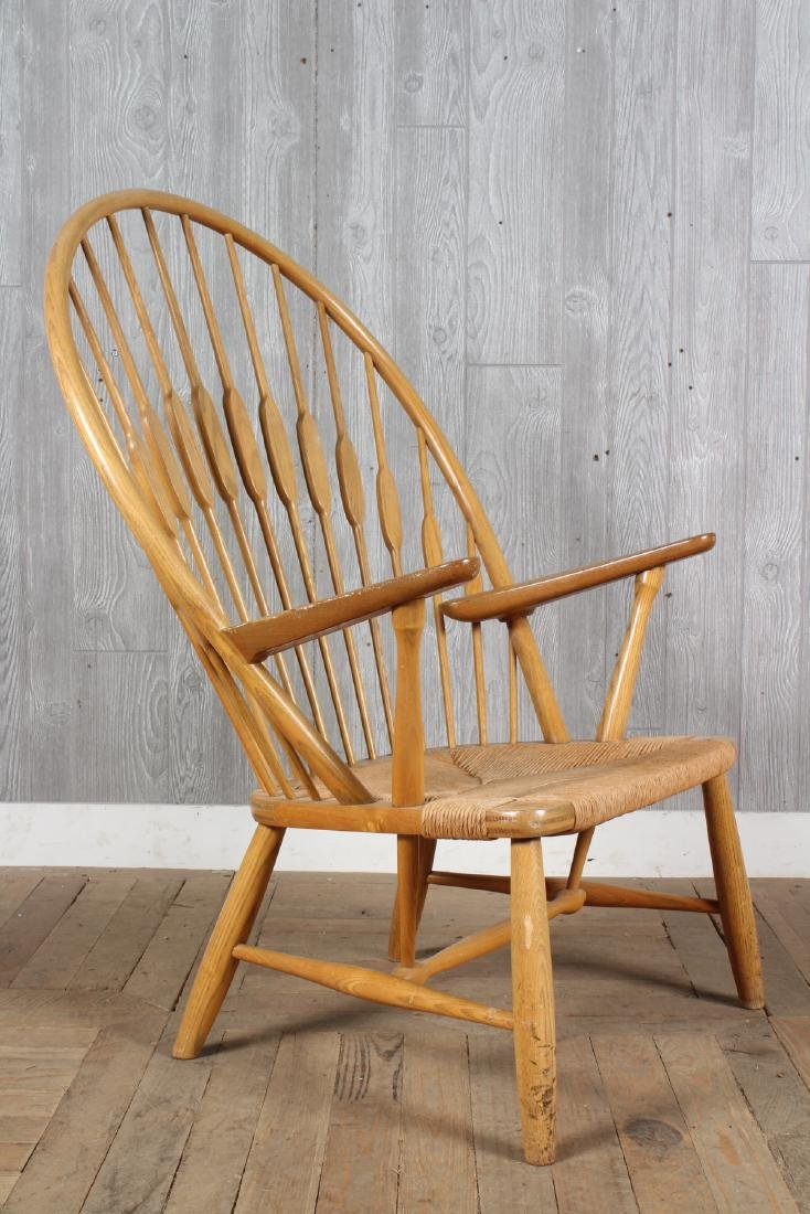Hans Wegner for Hansen Peacock Chair - 3