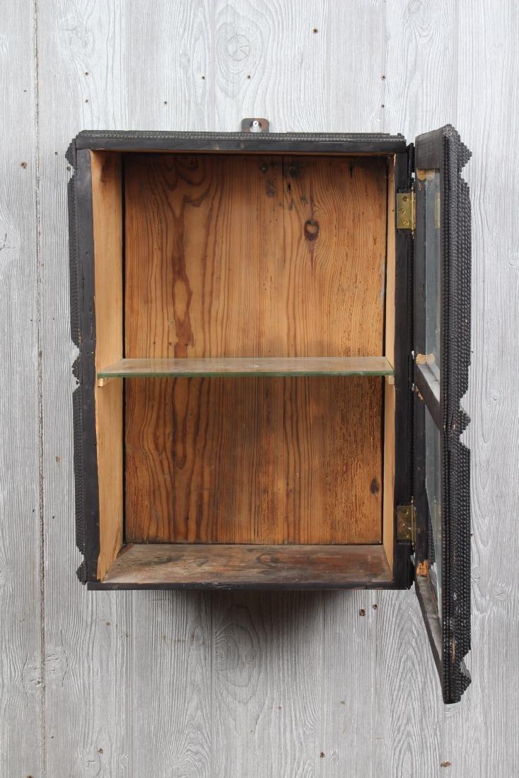 Tramp Art Wall Mounted Cabinet - 2