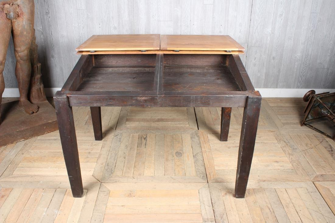 Pine Slant Top Chart Desk - 2