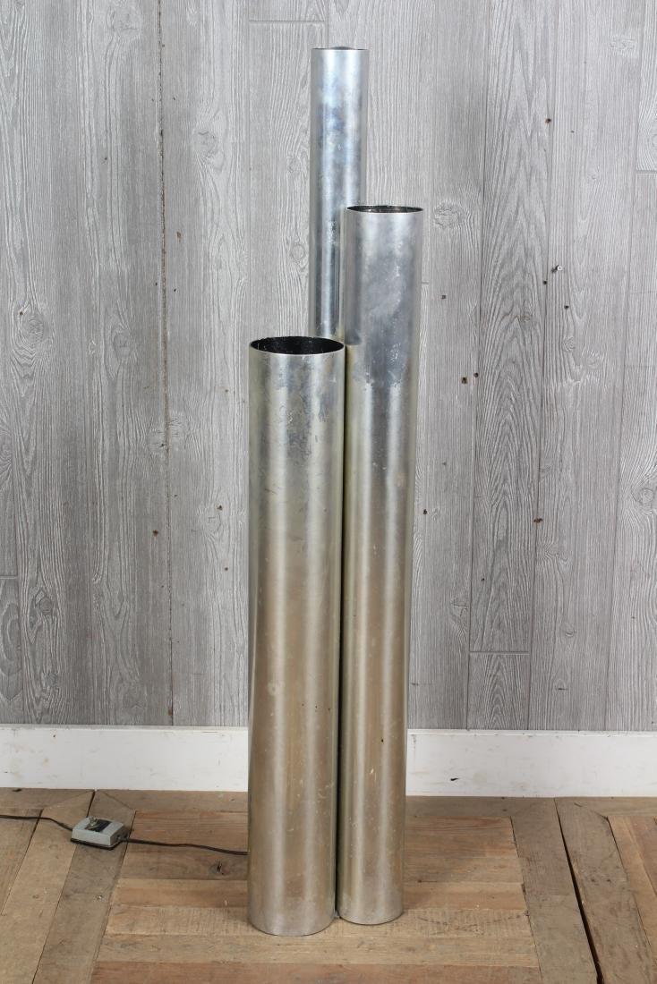 Modern Stepped Cylinder Floor Lamp