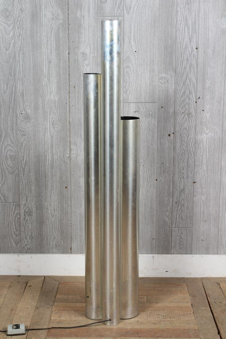 Modern Stepped Cylinder Floor Lamp - 4