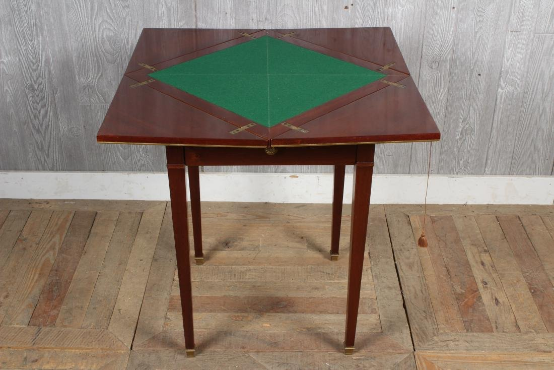 Regency Style Games Table - 4