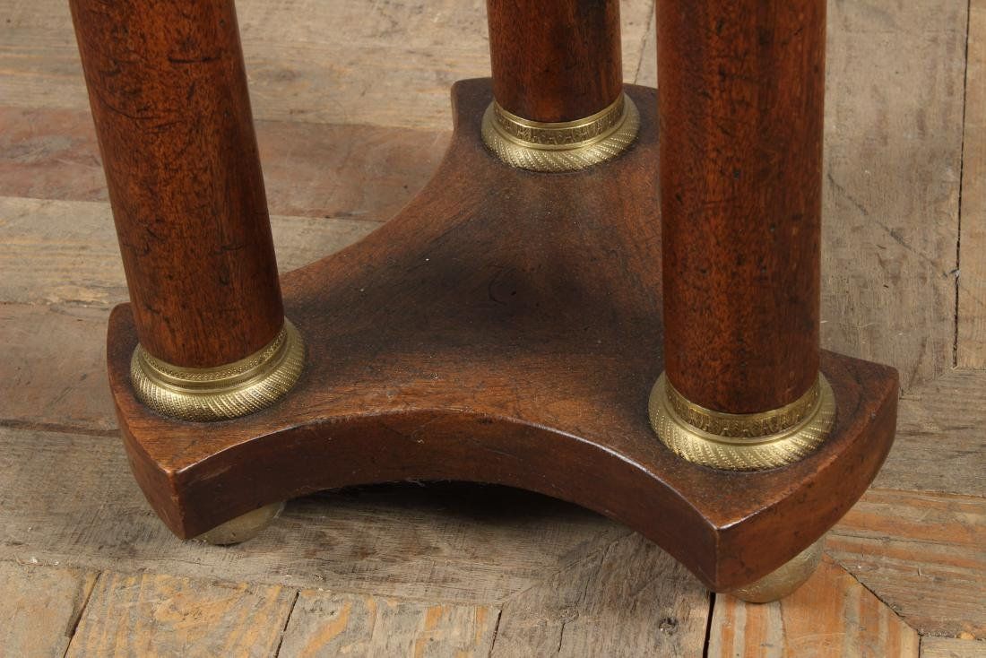 Empire Style Marble Top Pedestal - 2