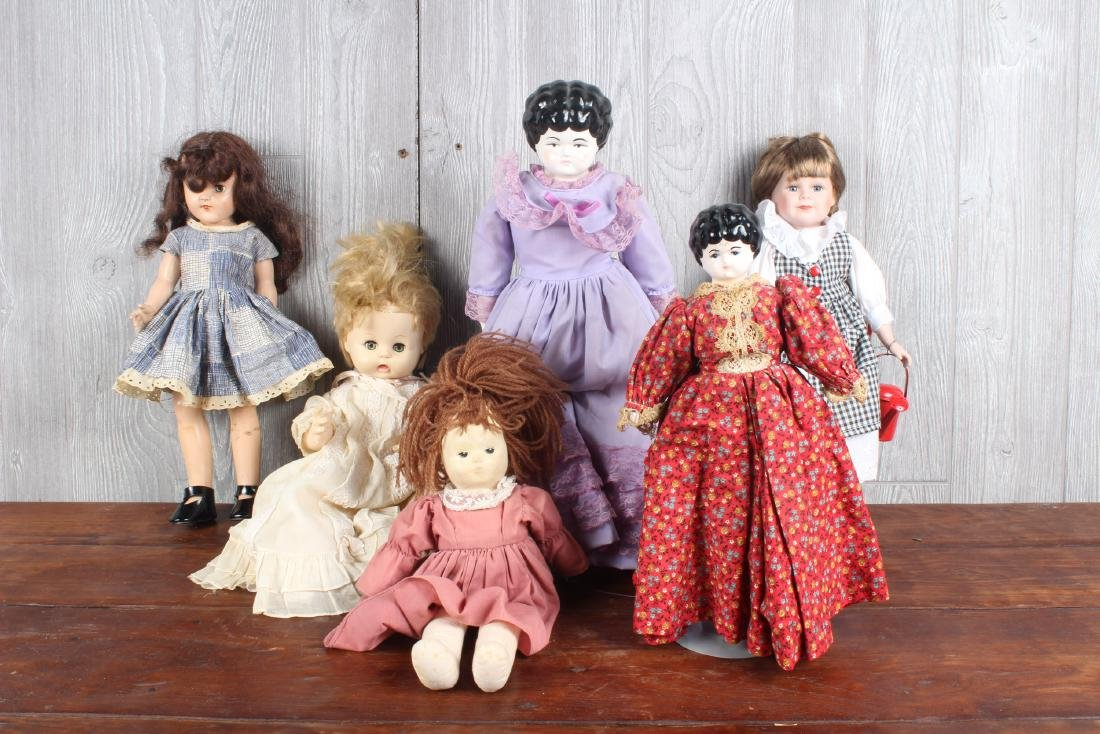 Estate Collection of Dolls